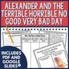 Alexander and the Terrible, Horrible...Day Guided Reading Unit
