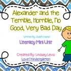 Alexander and the Terrible, Horrible.......Day Unit