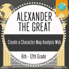 Alexander the Great- Creating a Character Map Analysis Web