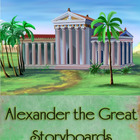 Alexander the Great Storyboards