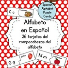 Spanish Alphabet Puzzle Cards