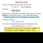 Algebra 1: 180 Solving Equations by Factoring
