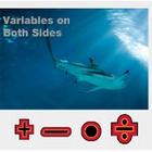 "Algebra 1: (EE.4) ""Variables on Both Sides"" Prezi/iPad Lesson"