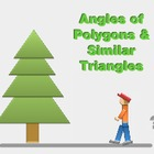 "Algebra 1: (Geometry.5) ""Angles of Polygons & Triangles"" P"