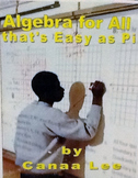 Algebra Easy as Pi