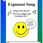 Algebra: Exponent Song - Rules for Simplifying with Exponents