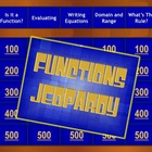 Algebra Functions Jeopardy® Game