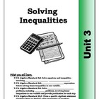 Algebra Guided Presentation Notes: Unit 3 - Solving Inequa