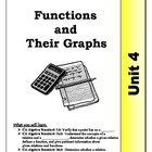 Algebra Guided Presentation Notes: Unit 4 - Functions and 
