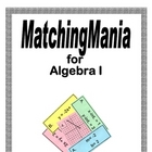 Algebra I MatchingMania