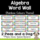 Algebra Math Word Wall