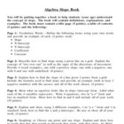 Algebra Slope Book