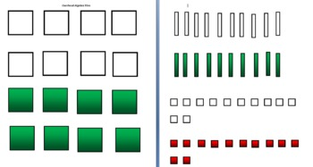 Algebra Tiles for the Overhead Projector