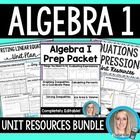 Algebra Unit Plans Bundle
