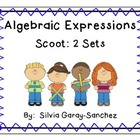 Algebraic Expressions Scoot