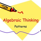 Algebraic Thinking - Patterns and Writing Rules/Equations