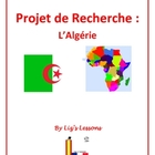 Algeria Research Project for Advanced French Classes