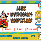 Alice investigates Wonderland