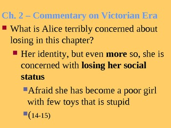 Alice's Adventures in Wonderland Ch. 1-12 Discussions for