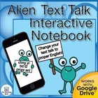 Alien Text Talk Full Year Daily Language Practice ~ Gramma
