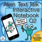 Alien Text Talk QTR 2 Daily Language Practice~ Grammar, Spelling