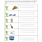 Alien- Themed Activity with Commands and Direct Dbject Pronouns