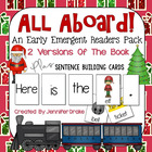 All Aboard! ~Early Emergent Reader For The Winter Express~