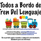 All Aboard!  English & Spanish Speech Therapy Activities!