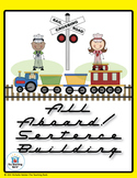 All Aboard! Sentence Building Literacy Center CD~Common Co