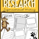Animal Research Writing {The Creative Classroom}
