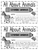 All About Animals Sentence Scramble