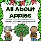 All About Apples: Reading , Writing, and Poetry Unit
