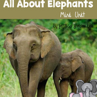 All About Elephants-Book and Worksheets