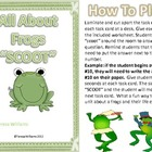 All About Frogs &quot;SCOOT&quot; Game