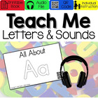 All About Letter Aa[Interactive Listening Center with Audi