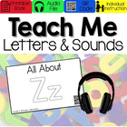 All About Letter Zz [Interactive Listening Center with Aud