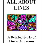 All About Lines and Linear Equations, Activities and Handouts