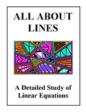 All About Lines - A Detailed Study of Linear Equations, Ha