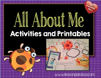 All About Me Activity Pack & Craftivities
