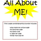 All About Me - Autobiographical Pages