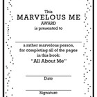 All About Me Book