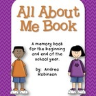 All About Me Book - 2nd Grade