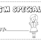 All About Me Book ( I Am Special)