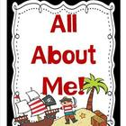 All About Me Bulletin Board Set and More- Pirate Themed