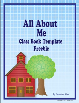 All About Me:  Class Book Template and Story Starter Freebie