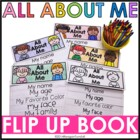 All About Me Flip Up Book