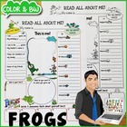 Frogs All About Me Printable