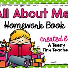 All About Me Homework Book