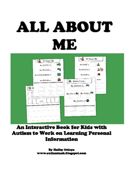 All About Me: Interactive Worksheets to Work on Personal Information