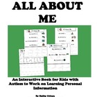 All About Me: Interactive Worksheets to Work on Personal I